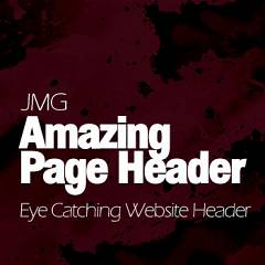 JMG Amazing Page Header