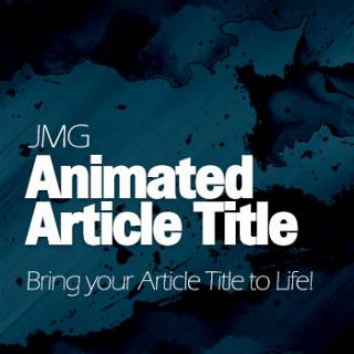 JMG Animated Article Title