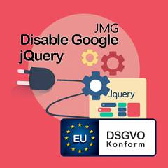 JMG Disable Google Jquery